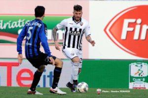 Daniele Altobelli, primo gol in serie b con l'ascoli. Anxur time