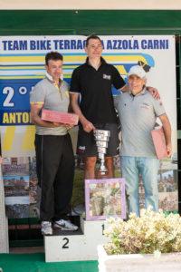 Il podio del 2° Memorial Antonio Falcone
