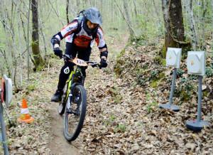 Gianluca Rossi in azione