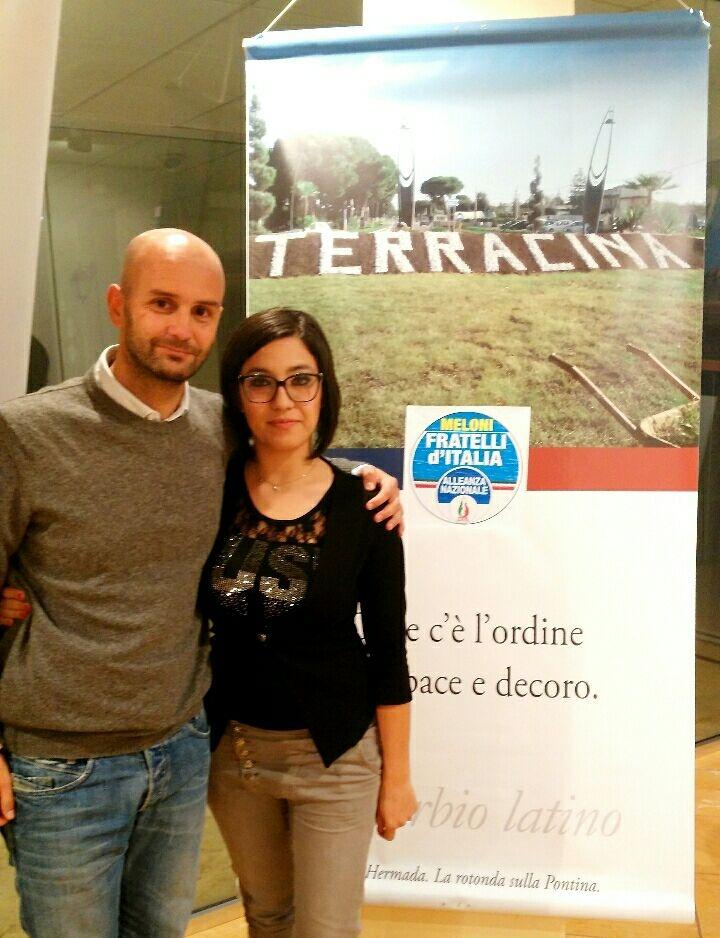 Nicola Procaccini e Marika Franceschini. Anxur Time