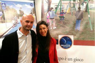Nicola Procaccini e Sara Norcia. Anxur Time