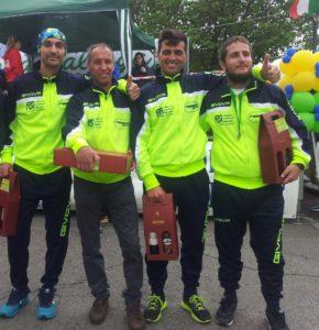 Maurizio Muccitelli, Patrizio Iannarilli, Roberto Del Bono e Matteo Cimaroli. Anxur Time
