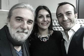 Giuseppe De Chirico, Daniela Benevoli ed Emmanuele Dicembrino. anxur time