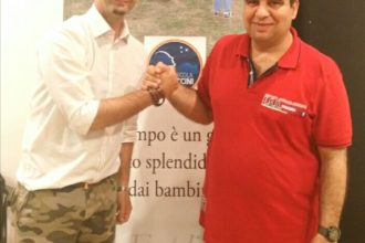 Nicola Procaccini ed Enrico Cannella. anxur time