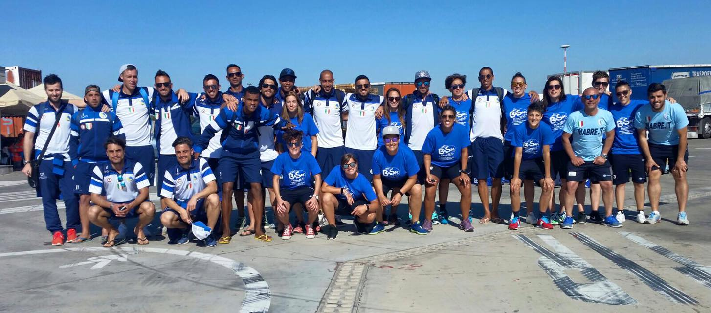 terracina e lady beach soccer alla euro winners cup.anxur time