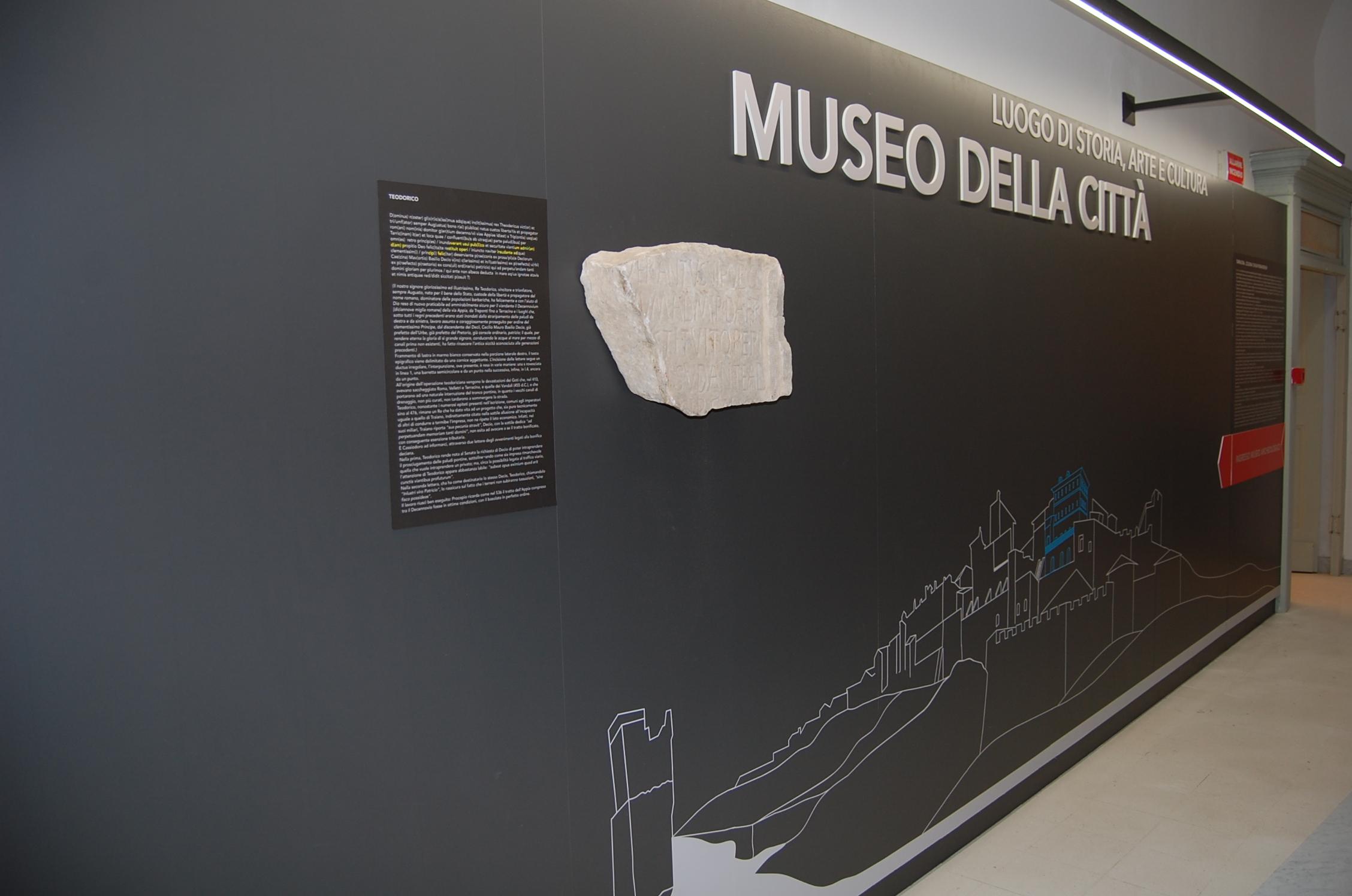 MUSEO DELLA CITTA'. ANXUR TIME