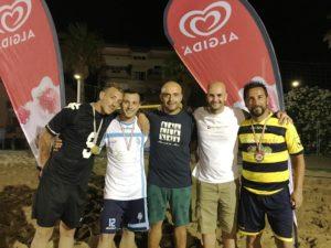 Matteo Palmacci e Simone Cancelli. miglior gol al Torneo dei quartieri. anxur time