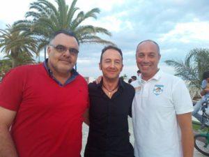 Il Presidente del Terracina Calcio Luciano Iannotta, il D.G.Luigi Bellezza e il vice Presidente Emiliano Perotti. anxur time
