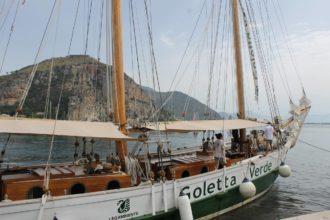 goletta verde a Terracina. anxur time