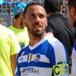 paolo palmacci, capitano Terracina beach soccer. anxur time