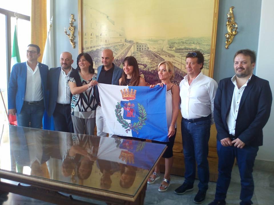 Nicola Procaccini con gli Assessori.anxur time