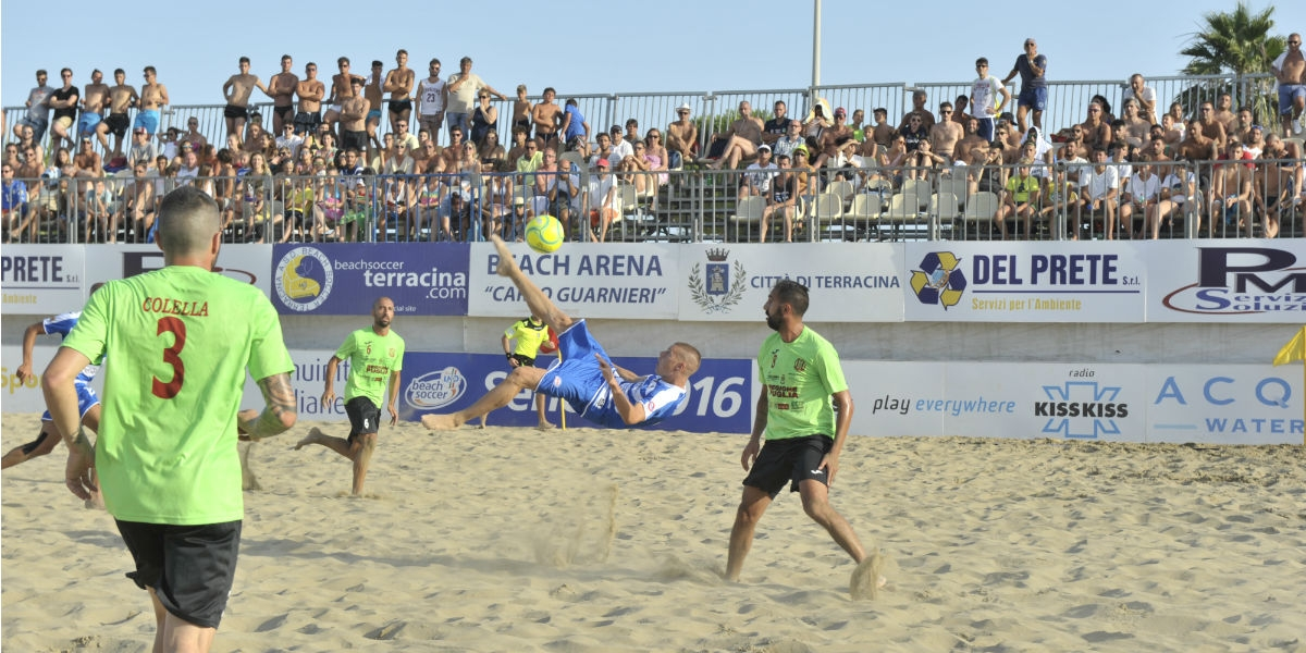 terracina beach soccer. anxur time