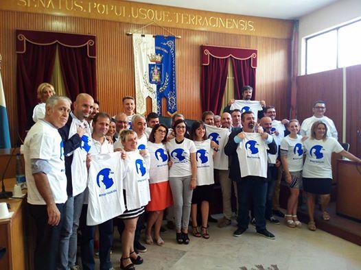 Consiglio Comunale Terracina. Solidarietà a Chisrian Cappello. anxur time