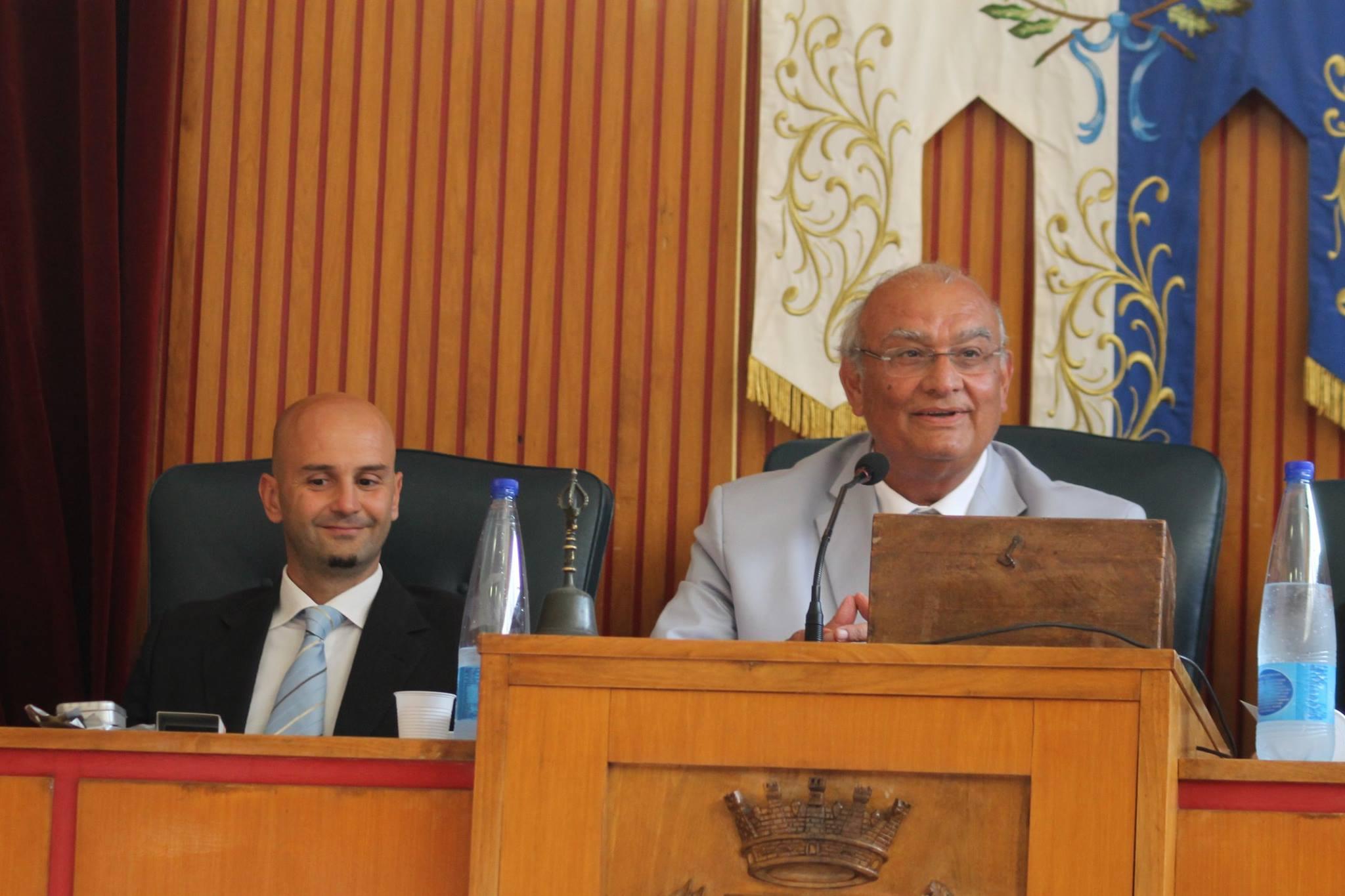 gianfranco sciscione, presidente del consiglio. anxur time