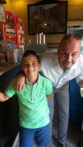 Gianluca Leo e il Sindaco Nicola Procaccini. anxur time