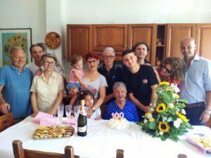 Maria D'Ammizio compie 100 anni. anxur time