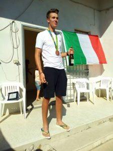 Brindisi con Matteo Lodo. anxur time