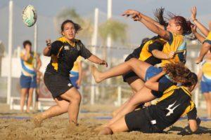 BEACH RUGBY FEMMINILE. ANXUR TIME