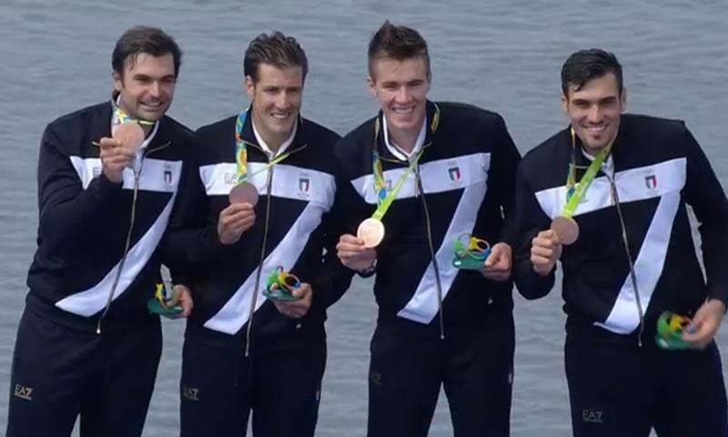 Matteo lodo sul podio. terzo alle olimpiadi di rio de janeiro. anxur time