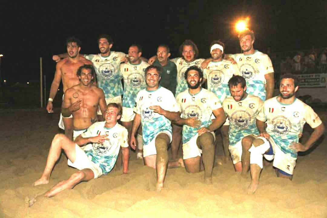 padova beach rugby. anxur time