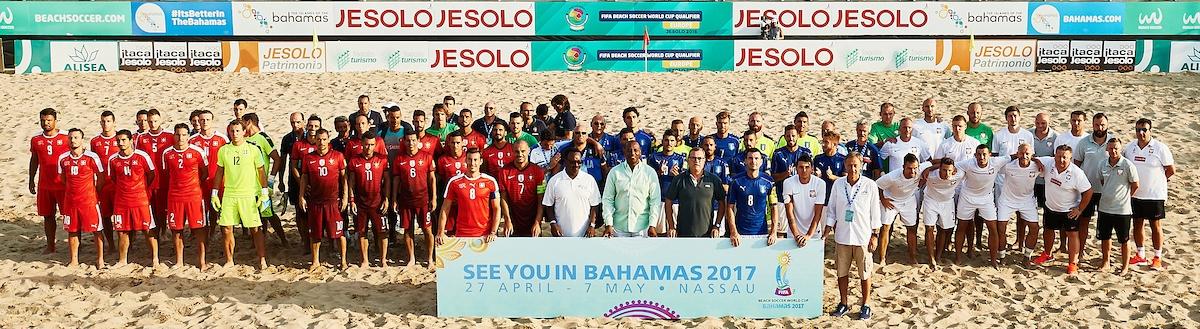 Nazionale italiana di beach soccer qualificata ai Mondiali 2017. anxur time