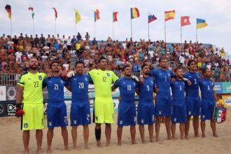 Nazionale Italiana beach soccer. Anxur time