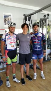 Da sx: Paolo Buccitti, Luca Madaluni, Paolo Di Girolamo