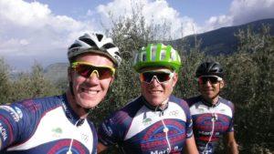 Da sx: Matteo Lodo, Romano Battisti, Luca Madaluni