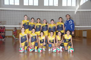 Pallavolo futura terracina '02. Under 13. anxur time