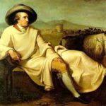 Wolfgang Goethe a Terracina. Anxur time
