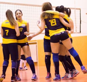 Pallavolo Futura Rerracnia under 18 in finale. anxur time