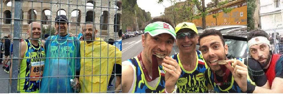 La Podistica alla Maratona di Roma. Anxur Time