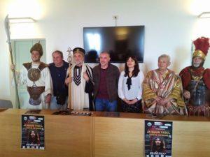 passione vivente Terracina, conferenza stampa. Anxur time