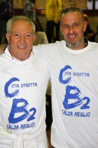 Enrico Fusco e Agostino Di Sauro. anxur time