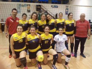 Pallavolo futura terracina under 18 coppa primavera. anxur time