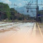 Stazione ferroviaria Monte San Biagio Terracina Mare. anxur time