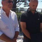 I sindaci di Monte San Biagio e Terracina, Federico Carnevale e Nicola Procaccini. Anxur time