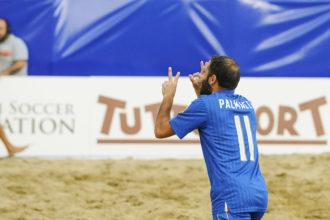 paolo palmacci, 200esimo gol in Nazionale. anxur time