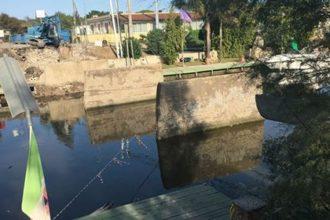 ponte fiume sisto demolito. anxur time