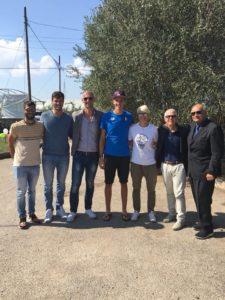 Paolo Di Girolamo, Simone Venier, Alessio Sartori, Matteo Lodo, Monica Bellini, Domenico Villani e Gianfranco Sciscione. anxur time