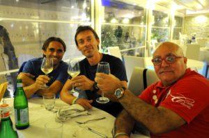 Gigi Renna, Mario Milazzo e Patrizio Patriarca. Anxur time