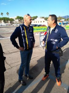 Nicola Procaccini ed Egidio Pagliaroli. Anxur time
