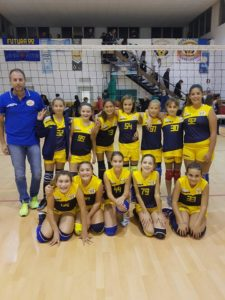 pallavolo futura terracina '92. under 13 sperlonga. anxur time