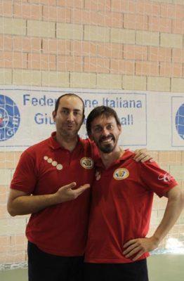 pierfrancesco Troccoli e Mario Milazzo. anxur time