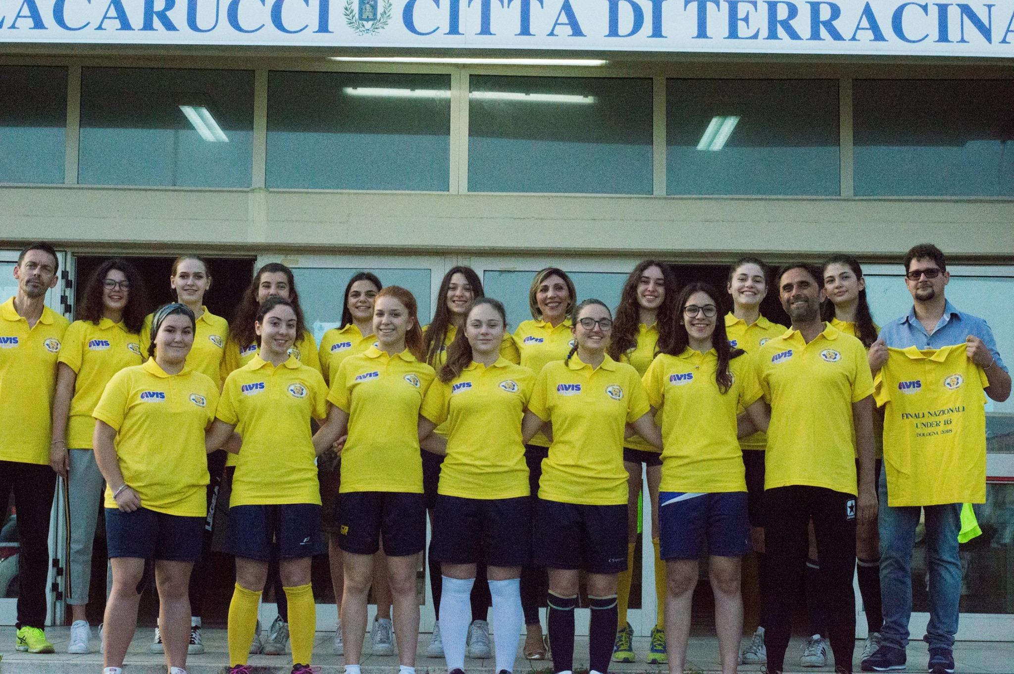 Pallavolo futura terracina '92. finali nazionali under 16 Bologna. anxur time