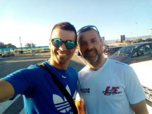 Roberto Del Bono e Raffaele Acanfora. Anxur time