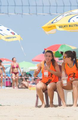 Camilla Sanguigni ed Alessia Arfini in time out