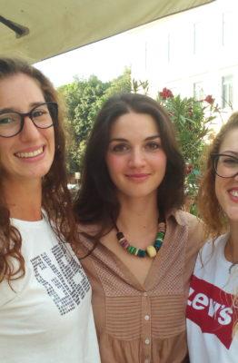 Pallavolo Futura Terracina '92:Fabiana Tigli, Sara Drogehi, Chiara Corsetti. anxur time