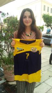 Sara Droghei. pallavolo futura terracina '92. anxur time